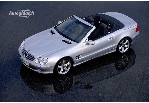 Mercedes-Benz SL 500 2001-2004