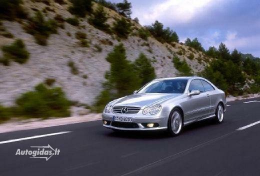 Mercedes-Benz CLK 55 AMG 2002-2005