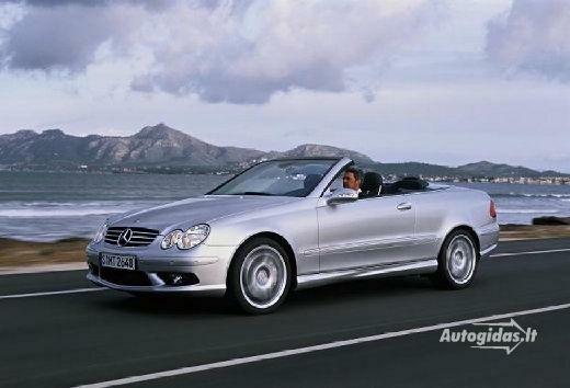 Mercedes-Benz CLK 55 AMG 2003-2005
