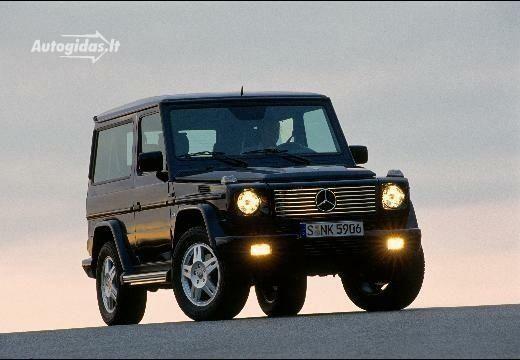 Mercedes-Benz G 400 2000-2006