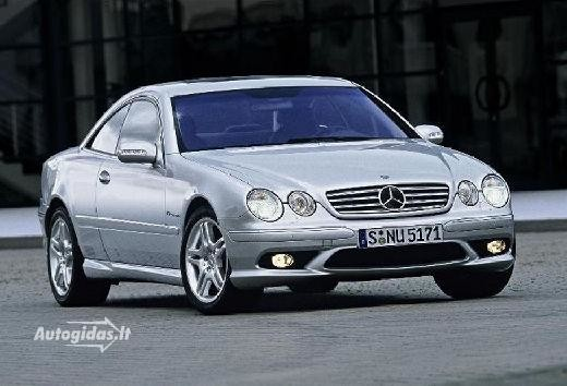 Mercedes-Benz CL 55 AMG 2002-2006