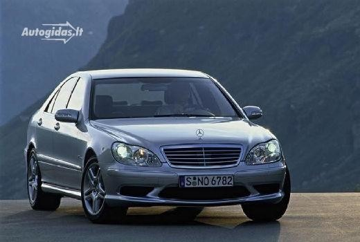 Mercedes-Benz S 55 AMG 2002-2005
