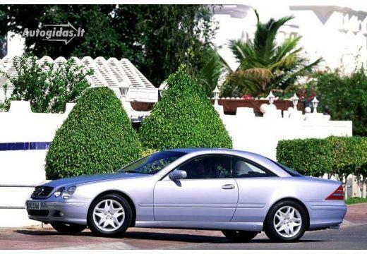 Mercedes-Benz CL 600 1999-2002