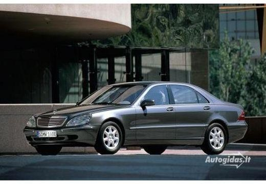 Mercedes-Benz S 500 1998-2002