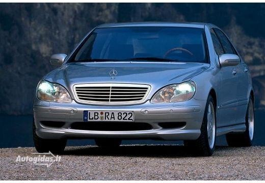 Mercedes-Benz S 55 AMG 2001-2002