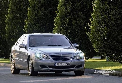 Mercedes-Benz S 500 2002-2004