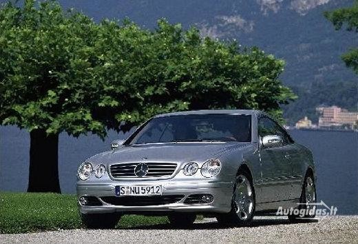 Mercedes-Benz CL 500 2002-2006
