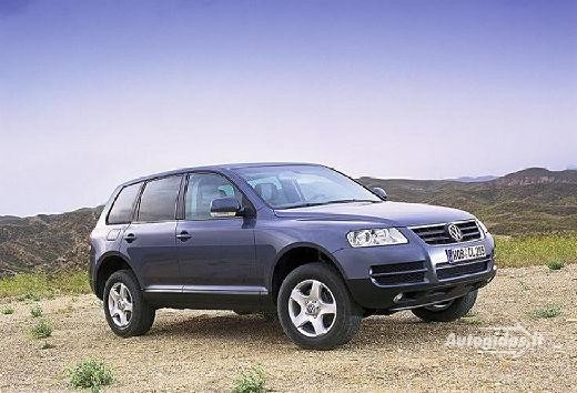 Volkswagen Touareg 2003-2004