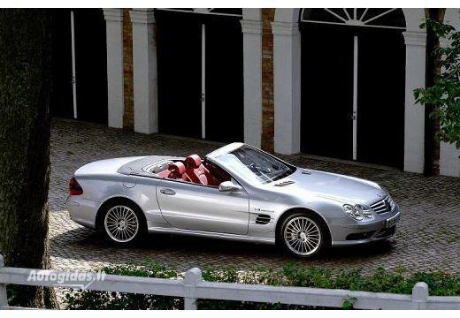 Mercedes-Benz SL 55 AMG 2001-2006
