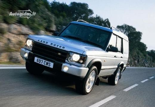 Land Rover Discovery 2002-2004