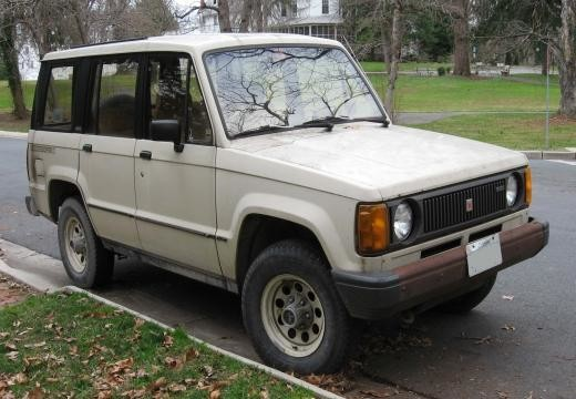 Isuzu Trooper 1989-1990