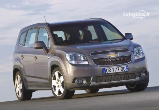 Chevrolet Orlando 2011-2012