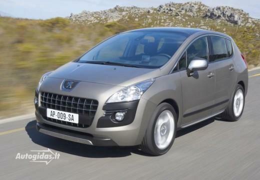 Peugeot 3008 2011-2012