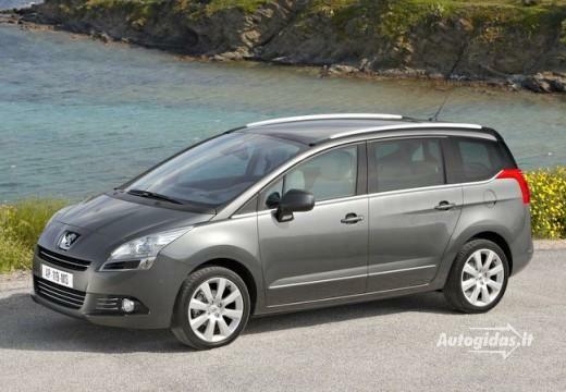 Peugeot 5008 2011-2012
