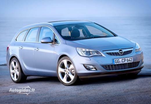 Opel Astra 2012-2013
