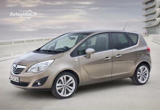 Opel Meriva 2012-2013