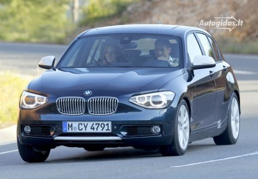 BMW 116 2012-2015