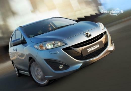 Mazda 5 2012-2013