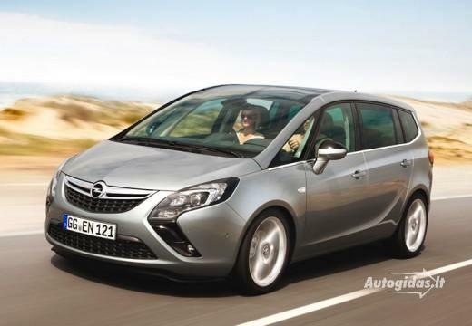 Opel Zafira 2012-2013