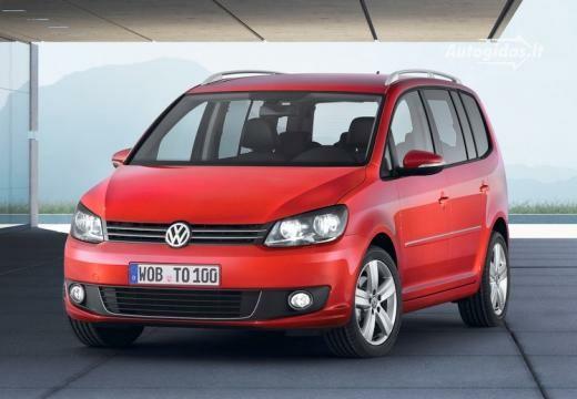 Volkswagen Touran 2012-2013