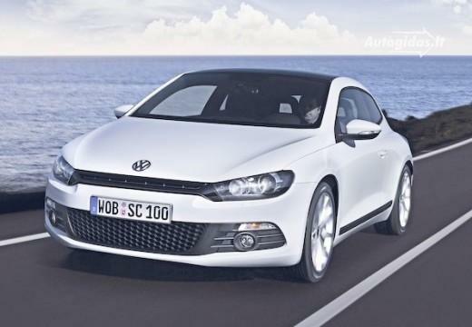 Volkswagen Scirocco 2012-2013