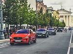 """Į Lietuvą išankstinei premjerai atvyko visiškai elektriniai """"Jaguar I-Pace"""" prototipai   foto 2"""