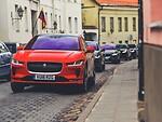 """Į Lietuvą išankstinei premjerai atvyko visiškai elektriniai """"Jaguar I-Pace"""" prototipai   foto 3"""