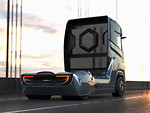 """1000 """"žirgų"""", daugiau kaip 1000 km vienu papildymu ir įspūdinga išvaizda - """"Nikola Motors"""" pristatė specialiai Europai skirtą vandeniliu varomą sunkvežimį """"Nikola Tre"""" foto 2"""