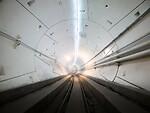 Elonas Muskas atidarė pirmąjį požeminį greitąjį tunelį foto 2