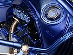 """Turbūt nieko panašaus į šį motociklą dar nesame matę: pristatytas unikalus ir nepakartojamas """"The Harley-Davidson Blue Edition""""  foto 2"""