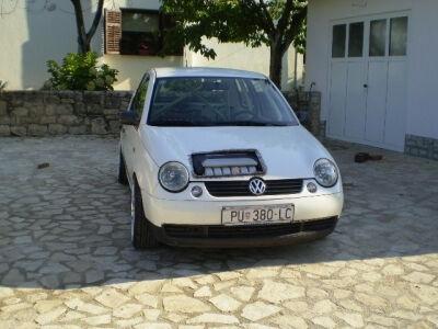 Kroatiškas tiuningas: VW Lupo su dviem V6