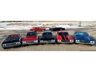 Aštuonios Chevelle viename aukcione