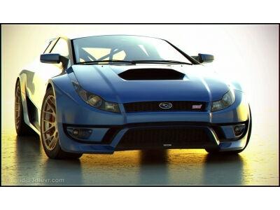 Menininko interpretacija: Subaru WRX STI (video)