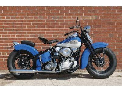 Naujas retro stiliaus motociklas iš S&S Cycle