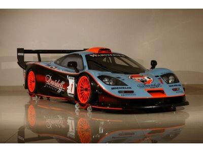 McLaren F1 GTR aukcione. Turite laisvus 5 milijonus?