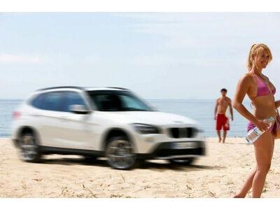 BMW X1 oficiali foto. Karšta... pupytė?