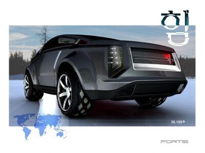 Kumho Fortis – ateities SUV konceptas