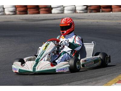 Schumacherio vedybų sukaktis – kartingų trasoje