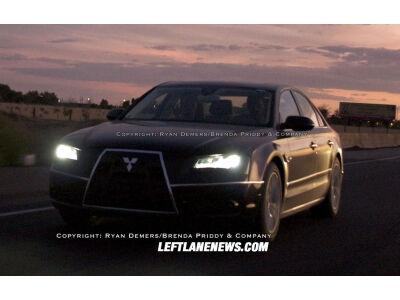 2010 Audi A8 slepiasi po Mitsubishi priedanga