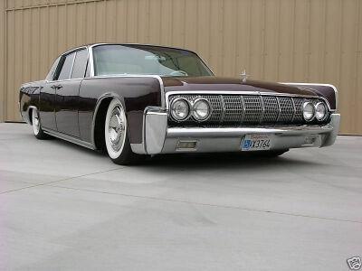 eBay perliukas – 1964 Lincoln Continental su 723AG paslaptimi po kapotu