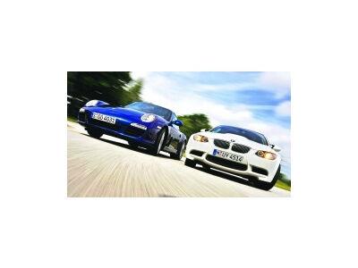 Porsche Carrera S prieš BMW M3