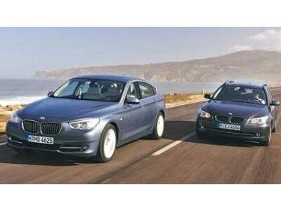 """Naujasis 5 serijos """"BMW GT"""" prieš genialųjį """"Touring"""""""