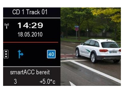 """""""Audi"""" aplenks šviesoforus ir taupys laiką degalinėse"""
