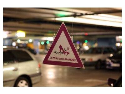 Apklausa: 64 proc. vyrų pritaria dėl specialių vietų mamų automobiliams