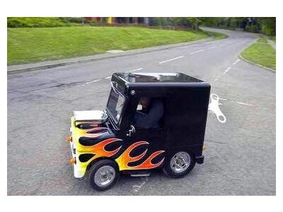 Sukurtas mažiausias pasaulyje automobilis