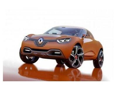 """Pristatytas naujasis """"Renault Captur"""""""