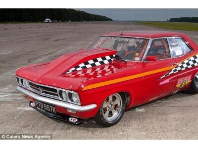 Britas sukūrė greičiausią pasaulyje automobilį