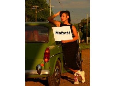 Ar ir tu savo automobilį vadini Mažyte?