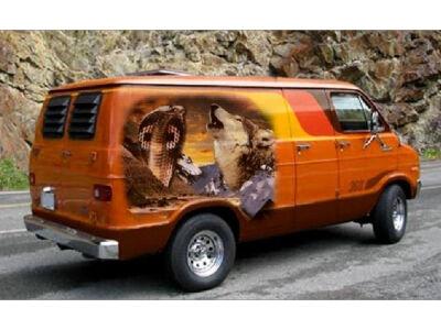 70-ųjų furgonai