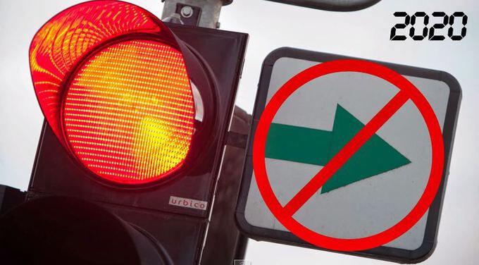 Kelių eismo taisyklių pakeitimas: nestabdydamas suksi į dešinę, turėsi bėdos.